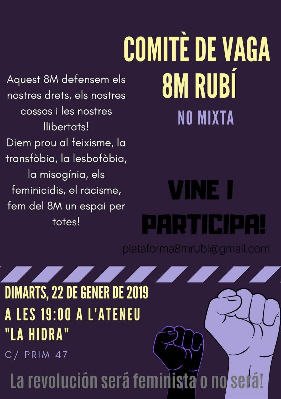 Comité de Vaga 8M Rubí