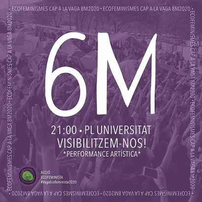 Acció ecofeminista 6M