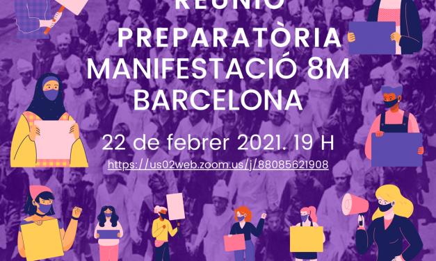 Reunió preparatòria manifestació 8M