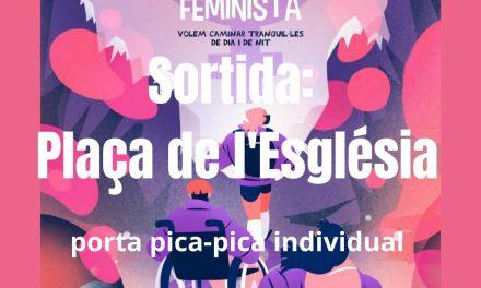 Passejada feminista a la garriga