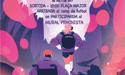Passejada feminista a La Sénia